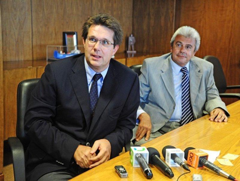 Eric Louveau y Carlos Balseiro, de Air France