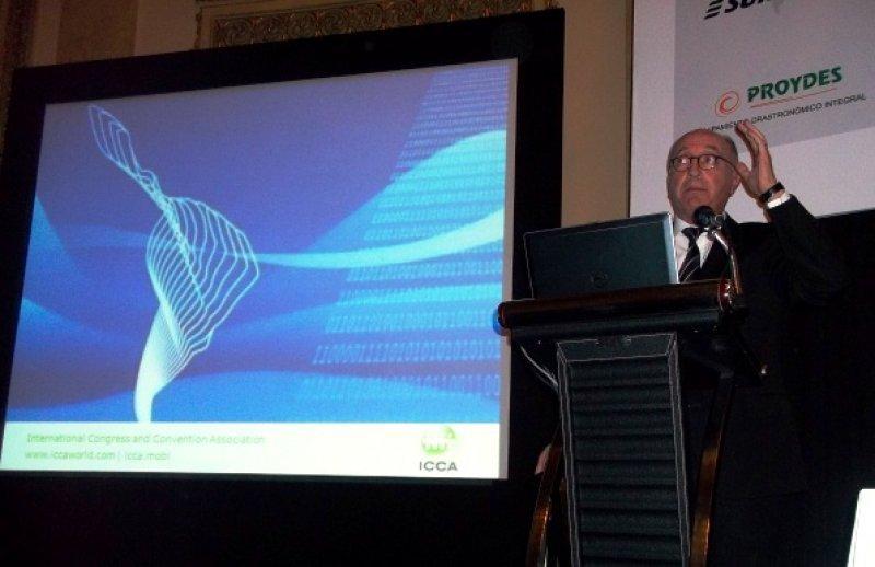 Arnaldo Nardone, presidente de la Asociación Internacional de Congresos y Convenciones (ICCA)