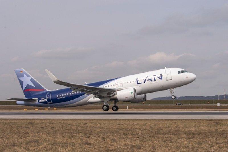 Airbus A320 de LAN con sharklets