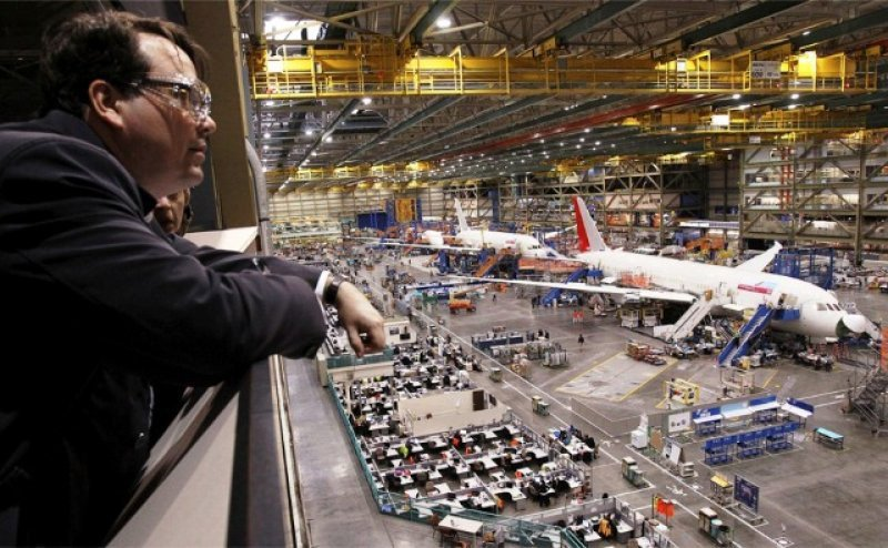 Taller de fabricación de Boeing