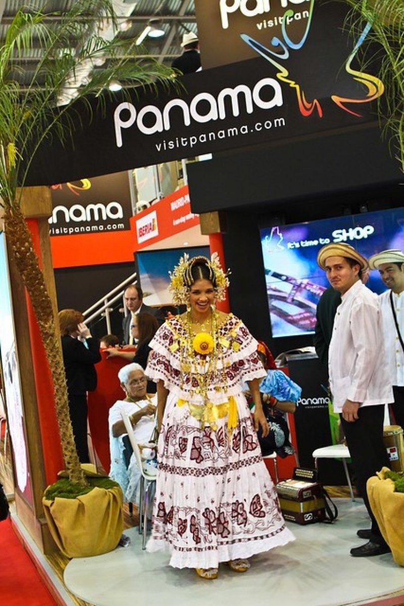 Stand de Panamá en la feria WTM Latinoámerica