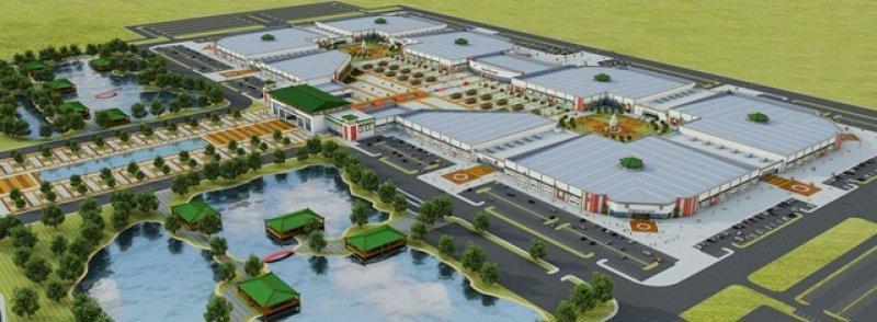 El centro comercial ocuparía más de 300 hectáreas