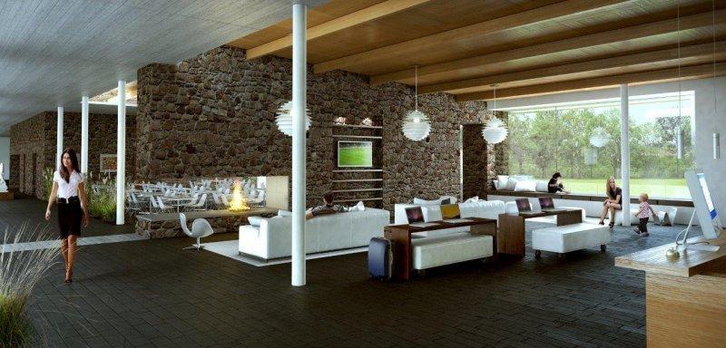 El hotel de 60 habitaciones se complementará con un centro de convenciones flexible y adaptable