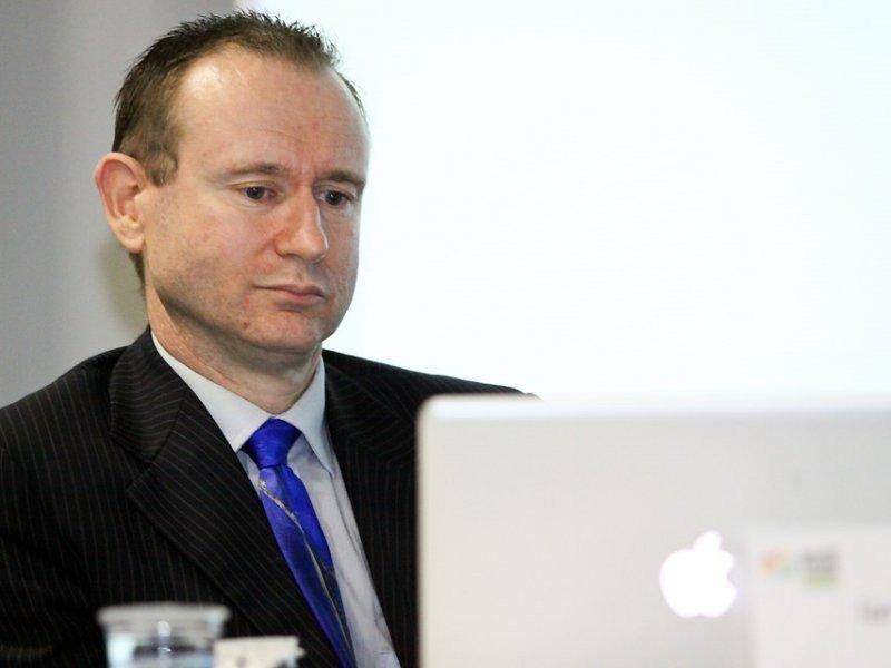 Ian Johnson, de Out Now Consulting, en Sao Paulo