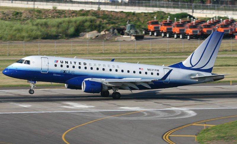 Los aviones tienen capacidad para 76 pasajeros y serán usados por United Express.