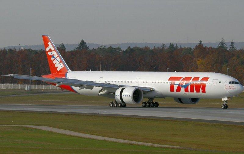 TAM suma dos Boeing 777 para cubrir la ruta Sao Paulo-Paris