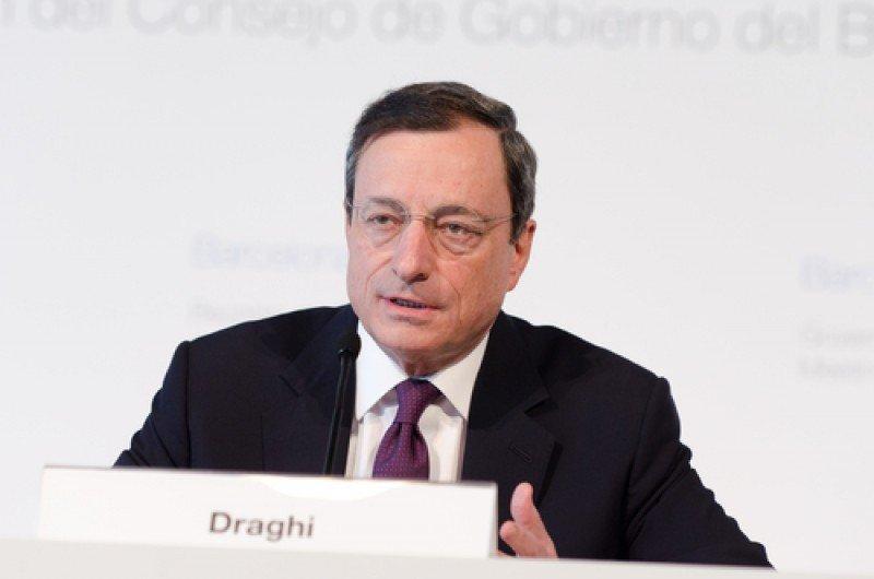 El presidente del BCE, el italiano Mario Draghi.#shu#