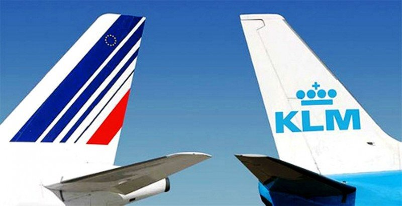 Air France-KLM aumenta sus pérdidas un 66% en el primer trimestre, hasta 630 M €