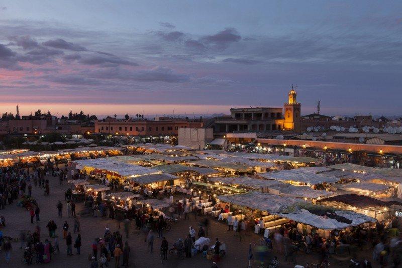 Marrakech, con tres millones de turistas, es el primer destino del norte de África. #shu#
