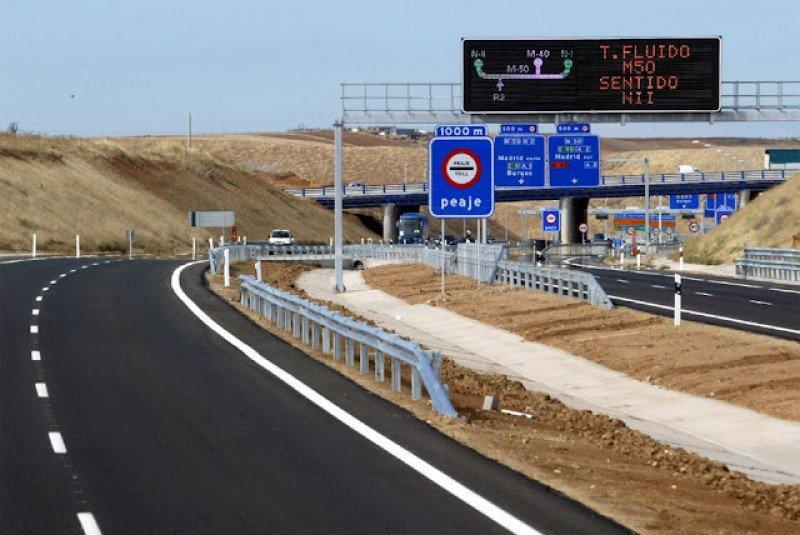 El tráfico de las autopistas de peaje se desploma un 30% desde los máximos de 2006