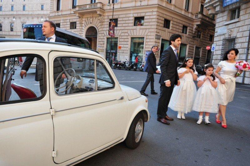 Celebración de una boda en Roma. #shu#