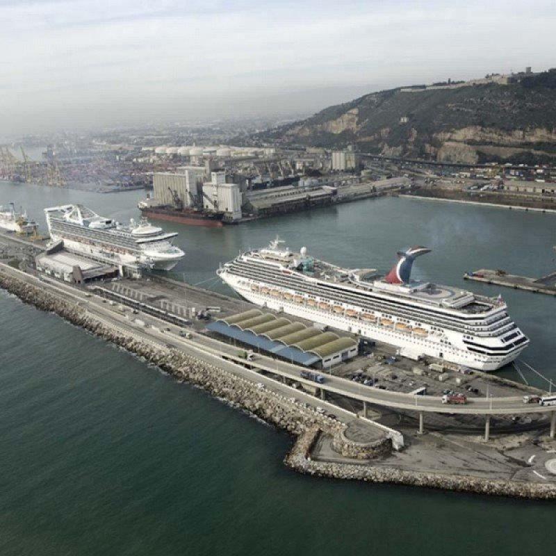 El número de cruceristas cayó en España un 6,7% en el primer trimestre