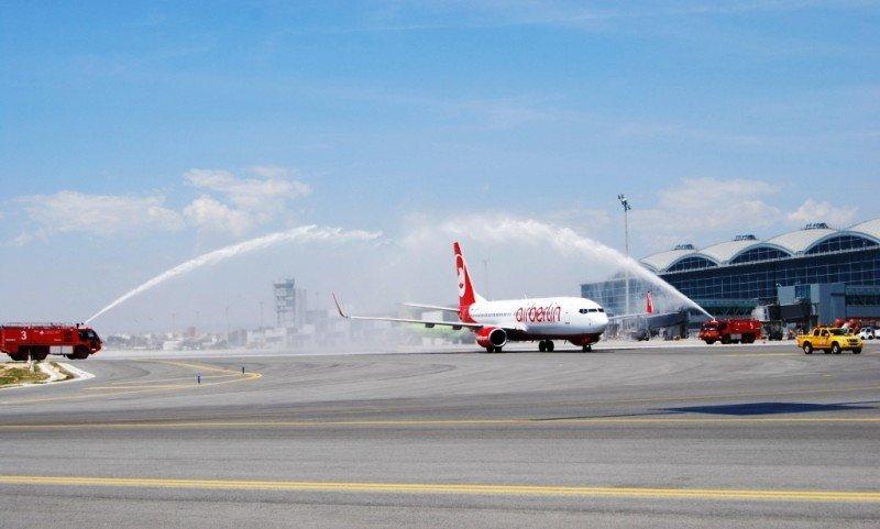 Airberlin inaugura su séptima ruta entre Alicante y Alemania