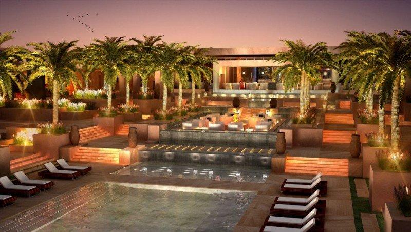 Infografía del futuro Ritz-Carlton Marrakech.