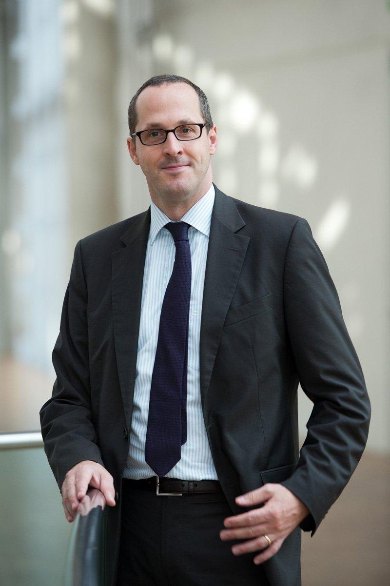 Stefan Kreuzpaintner, director general de Lufthansa para España y Portugal.