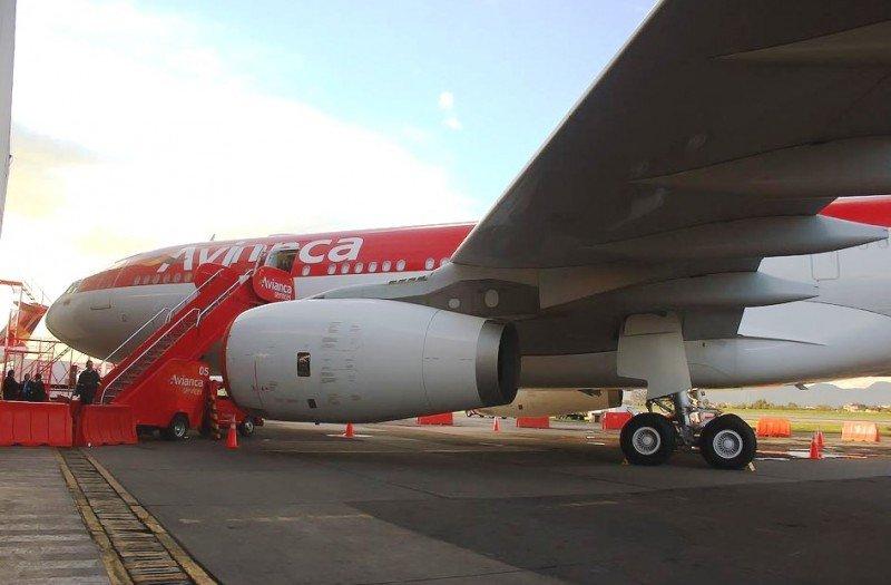 Uno de los A330 de Avianca incorporados en 2012.