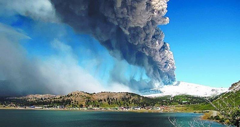 Alerta amarilla en Chile por el volcán Copahue.