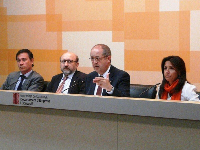 Felip Puig presentó ayer las líneas maestras del nuevo plan de márketing turístico de Catalunya 2013-2015.