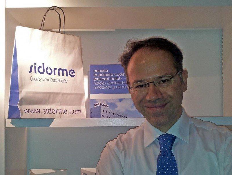 El nuevo consejero delegado de Sidorme Hoteles, Jairo González.