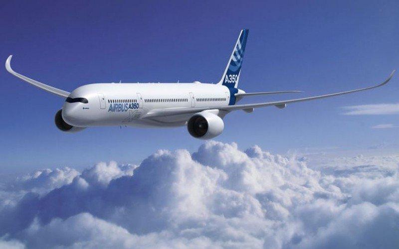 Airbus A350 XWB, el nuevo programa estrella de la unidad de aviones comerciales de Airbus.