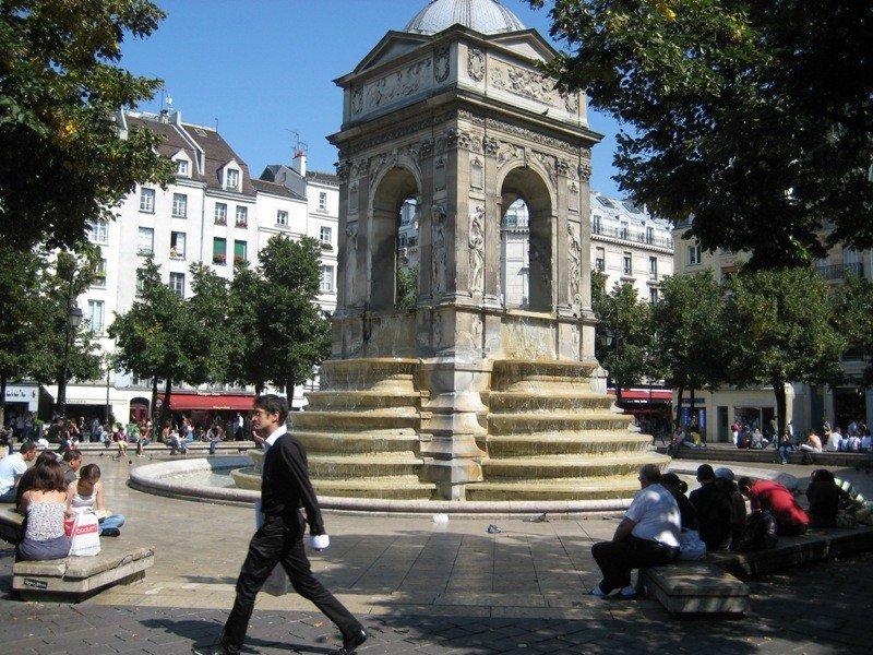 Imagen del centro de París.