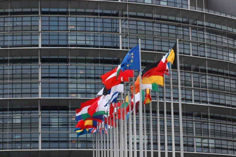 El Parlamento Europeo, en Estrasburgo.