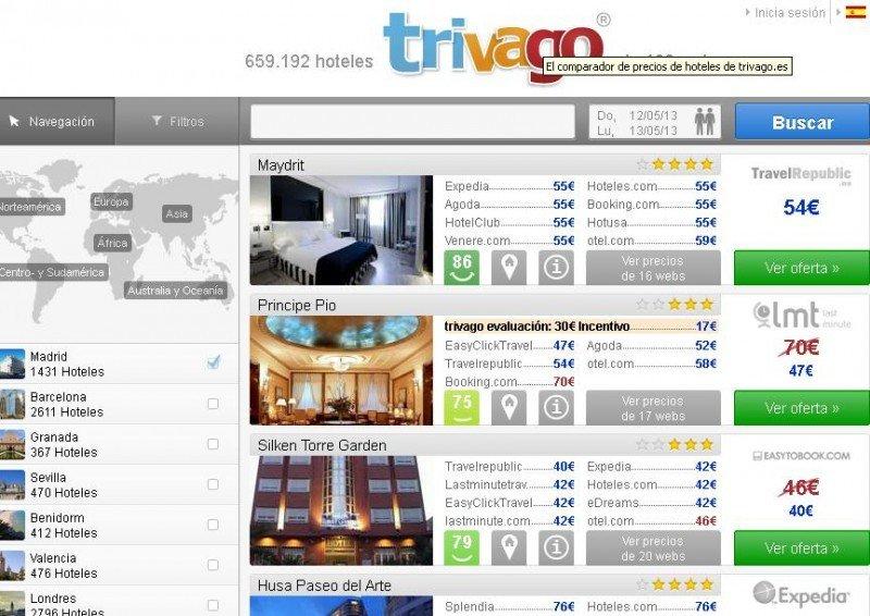 TripAdvisor vs. Trivago, la mayor red social de viajeros frente al consolidador preferido por los usuarios