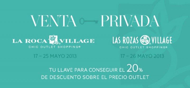 Venta Privada en La Roca Village y Las Rozas Village