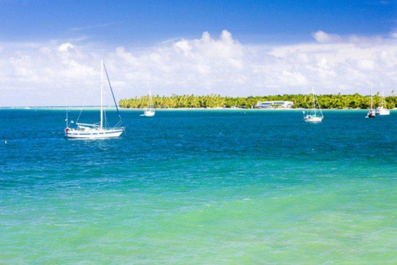 La costa sur de Trinidad y Tobago. #shu#