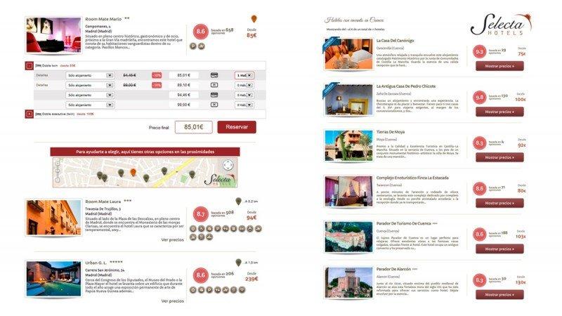 SelectaHotels.com integra Tor System de Transhotel en su portal de hoteles con encanto
