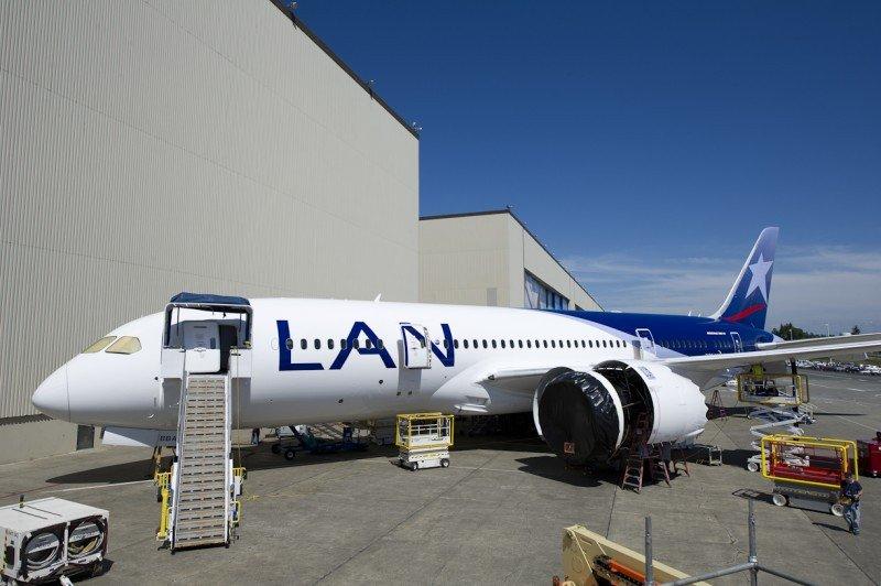 LAN vuelve a operar sus 787 en los próximos días tras exitosa prueba