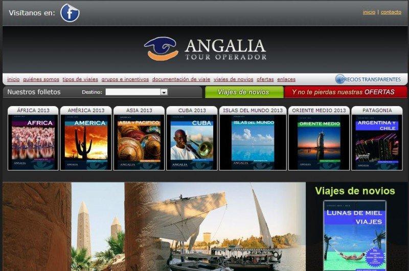 La web de Angalia ya no admite peticiones de destino.
