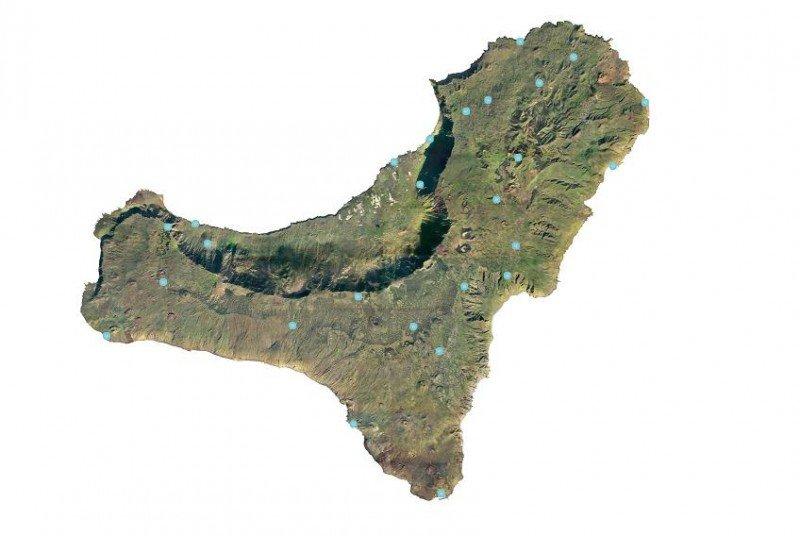 Los 26 puntos de acceso gratuito a la red en El Hierro se han instalado en núcleos urbanos y lugares de interés turístico.