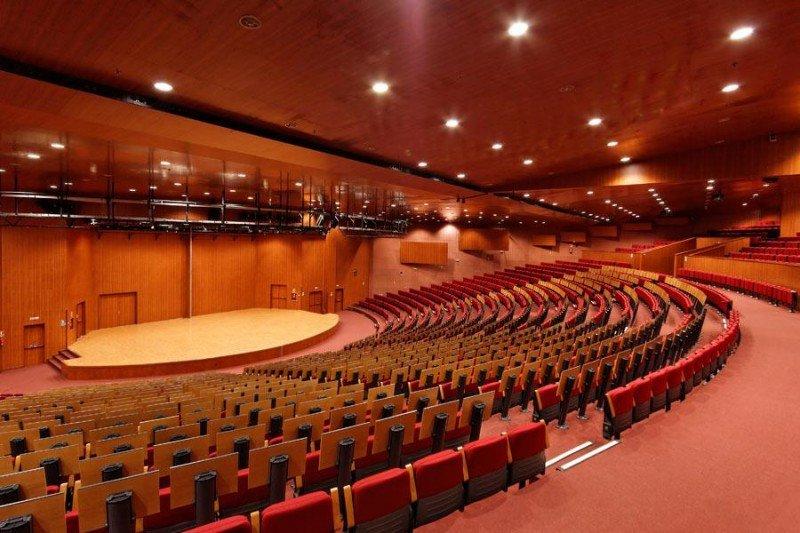 Las reuniones celebradas en Madrid suben más de un 50%. Foto: Hotel Audiotorium, Centro de Congresos Príncipe Felipe.