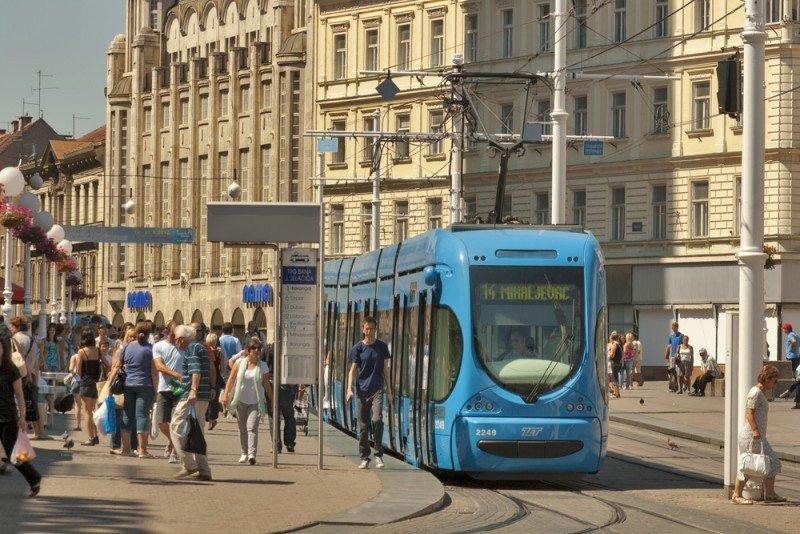 Zagreb aumentó un 14% la llegada de turistas entre enero y abril. #shu#