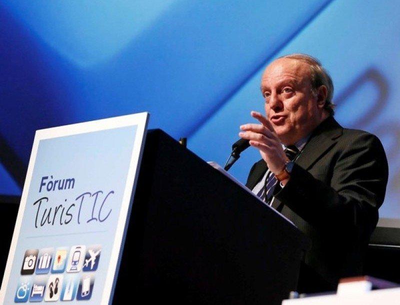 Javier Blanco, asesor de la OMT, participó ayer en el Fórum TurisTIC.