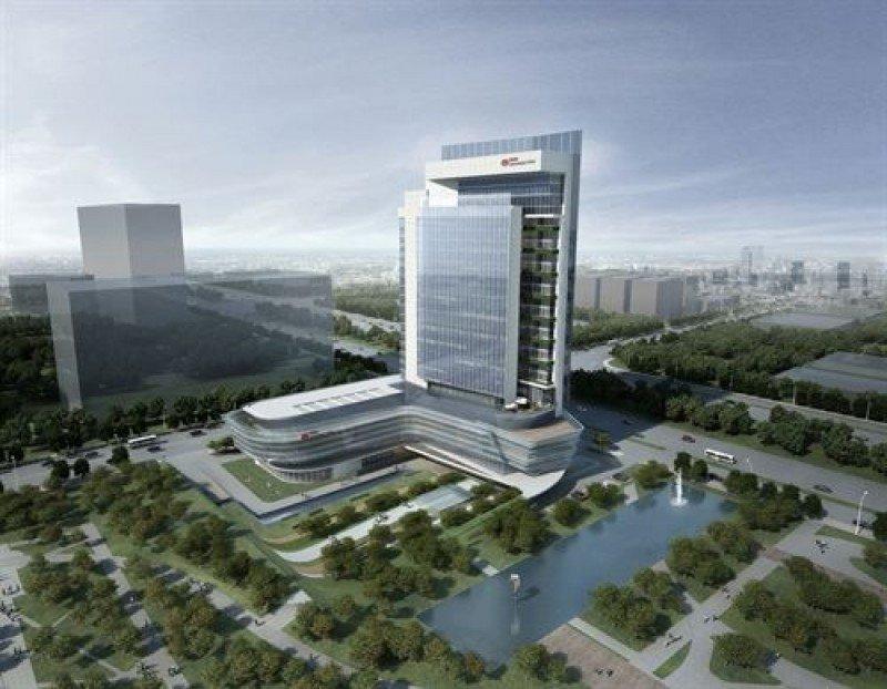 Infografía del futuro establecimiento Swissôtel de Xi'an.