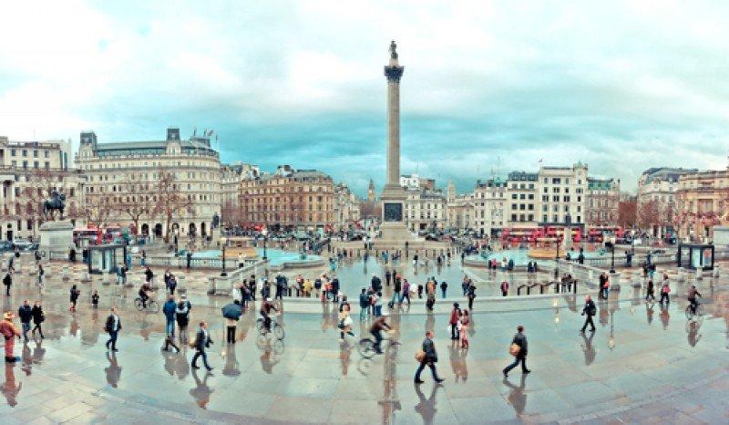 Trafalgar Square, Londres #shu#