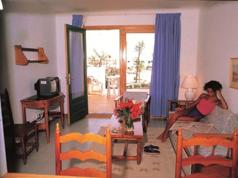 Un apartamento de playa.