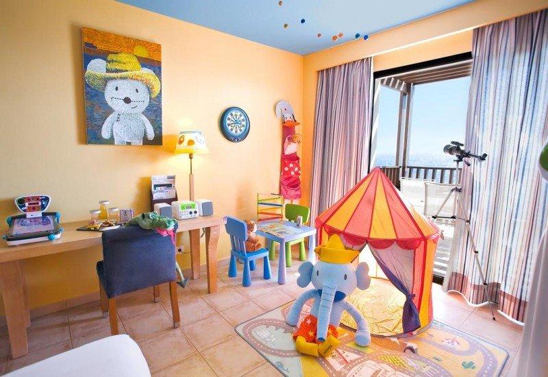 Una de las 15 Kids Rooms que ha acondicionado el hotel.
