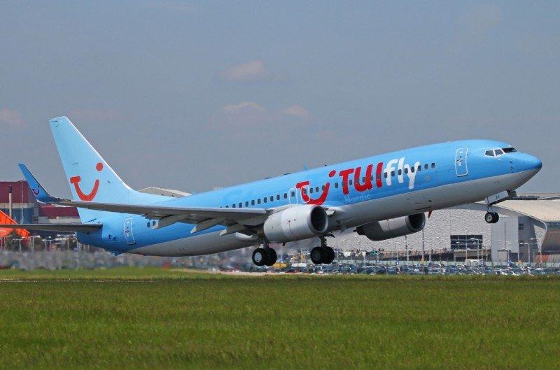 TuiFly Nordic inicia este domingo una nueva ruta desde el Aeropuerto de Menorca a Helsinki (Foto Yagel).