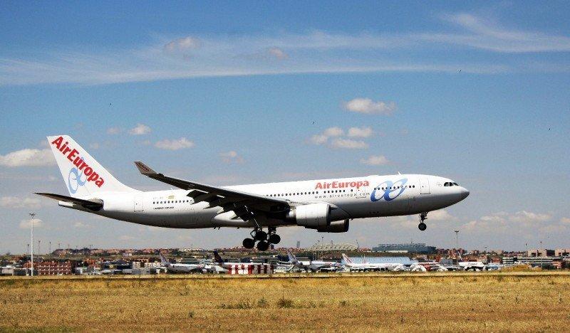 Air Europa operará cinco frecuencias semanales entre Madrid y Sao Paulo con un Airbus A330-200.