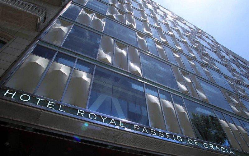La fachada del hotel Royal Passeig de Gràcia está protegida por su valor arquitectónico.
