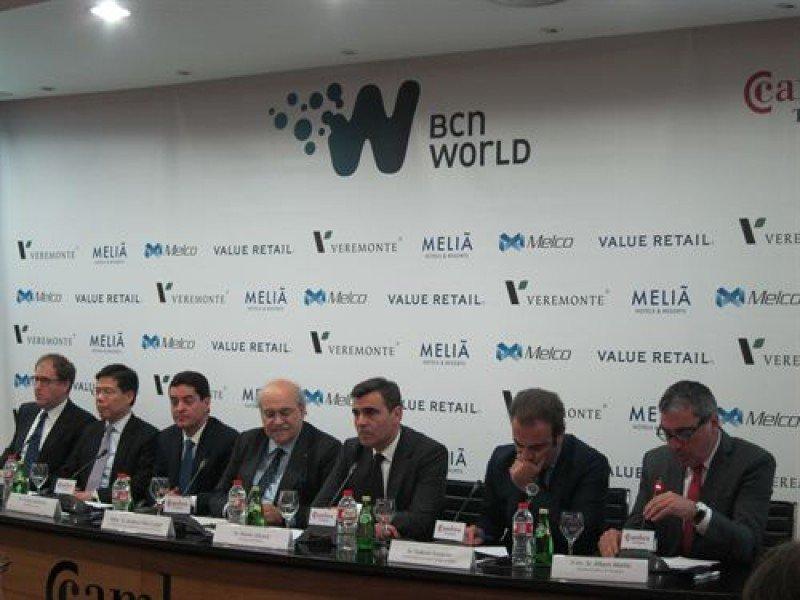 Meliá, Value Retail y Melco participarán con Veremonte en BCN World.