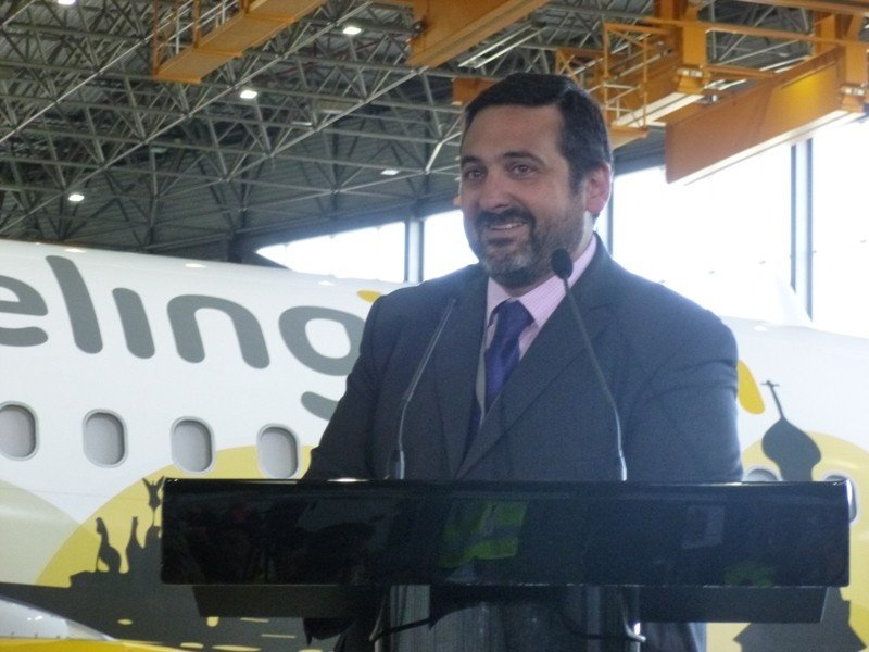 Alex Cruz, CEO de Vueling.