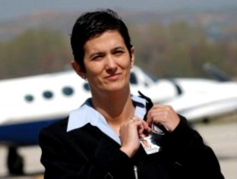 Cristina Echeverría Ochoa, nueva directora del Aeropuerto de Bilbao.