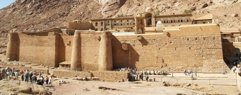El monasterio de Santa Catalina, Egipto.
