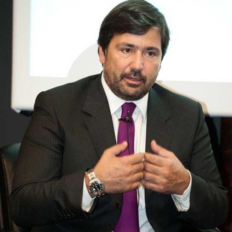 Gabriel Subías durante su intervención en el Foro Hosteltur.