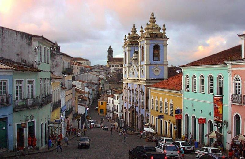 La ciudad de Salvador, en Bahia, es uno de los destinos preferidos en Brasil para el turismo interno
