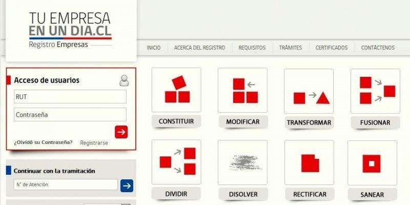 Ingresando a www.tuempresaenundia.cl los chilenos podrán formalizar su emprendimiento.